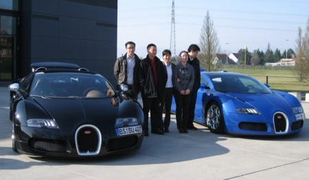 China Certification Corporation at CCC Factory Audit at Bugatti Manufacturing Plant