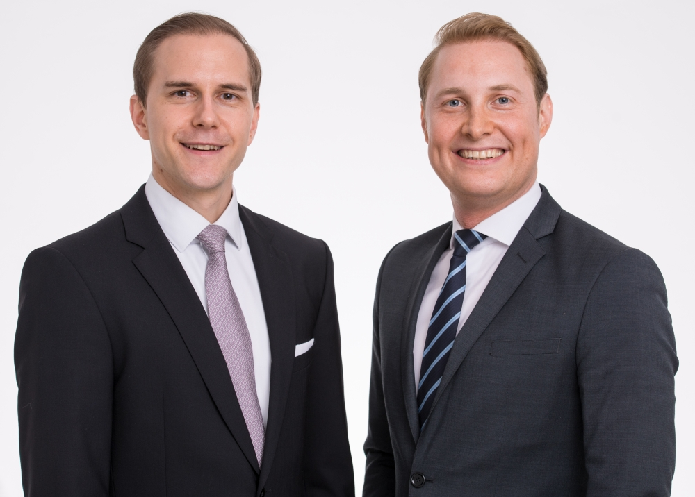 The Management: Mr. Julian Busch (CEO) and Mr. Christoph Graffius (Business Development Manager)