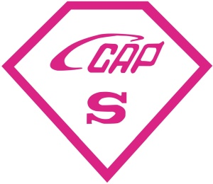Logo of the voluntary CCAP certification.