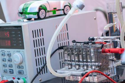 Brennstoffzelle als alternative Energiequelle von Elektrofahrzeugen