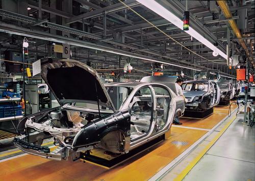 Autoproduktionslinie